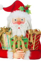 "Mark Roberts Grand Santa 26"" Table Decor"