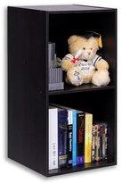 Furinno Hidup Tropika Espresso Modular Cube Storage Shelf