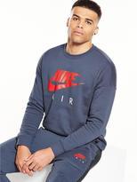 Nike Long Sleeve Crew Neck Top