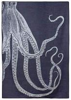 Thomas Paul Octopus Alpaca Throw - Navy