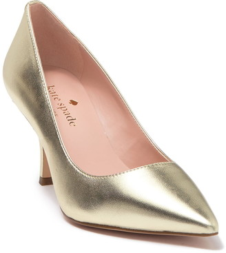 Kate Spade Sonia Metallic Pointed Toe Pump