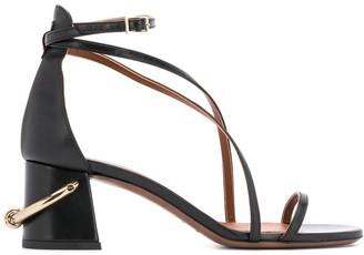 L'Autre Chose ring detail strappy sandals