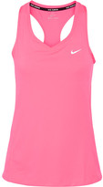 Nike Miler Dri-fit Stretch-jersey Tank - Bright pink