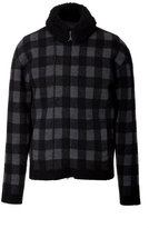 Ermanno Scervino Wool Checked Bomber Jacket