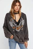 Trunk Ltd. Van Halen V-Cut Pullover Hoodie by at Free People