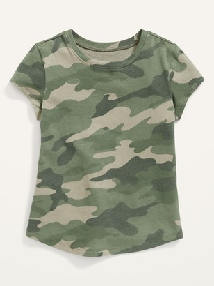 Old Navy Unisex Short-Sleeve Camo Tee for Toddler