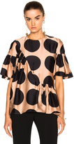 Stella McCartney Printed Dot Top