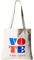 Dogeared Vote For Love Lil' Tote