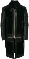 Balmain multipurpose panelled coat