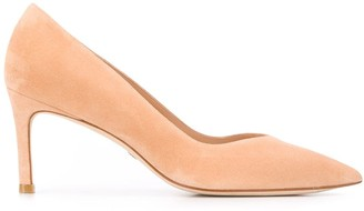 Stuart Weitzman Anny pointed-toe pumps