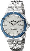 Edox Women's 54004 3BUM AIN Delfin Analog Display Swiss Quartz Silver Watch