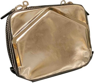 Alexander Wang Silver Leather Clutch bags