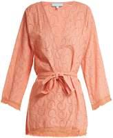Melissa Odabash Pippa long sleeve cotton dress