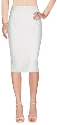 Plein Sud Jeans 3/4 length skirt