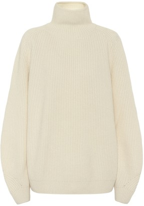 Loro Piana Lexington cashmere mockneck sweater