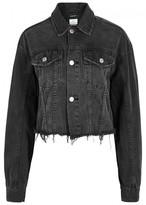 Ksubi Daggarz Cropped Denim Jacket