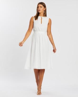 Atmos & Here Fiona Ruffle Dress