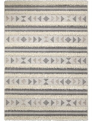 "Bungalow Rose Eisner Beige Indoor/Outdoor Area Rug Rug Size: Rectangle 7'6"" x 10'9"""