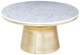 west elm Marble Pedestal Coffee Table