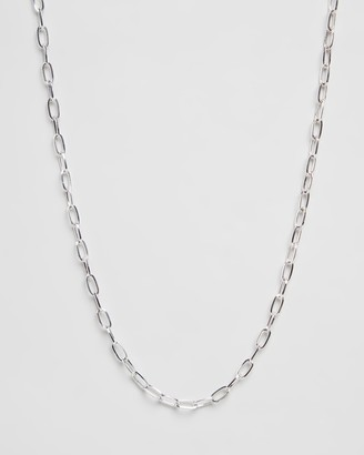 ICON BRAND Antique Oval Link Chain Necklace