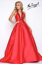 Mac Duggal Prom - 62569 Halter Gown In Red