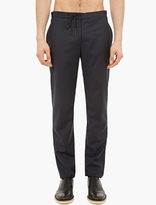 Maison Margiela Navy Relaxed Wool Trousers