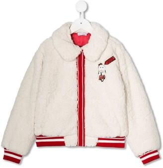 Dolce & Gabbana Kids Faux Fur Jacket