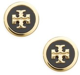 Tory Burch Women's Logo Stud Earrings