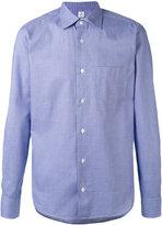 Danolis - plain shirt - men - Cotton - 17 1/2