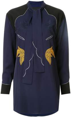 Toga embroidered western blouse