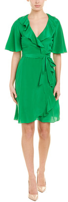 Karen Millen A-Line Silk Dress
