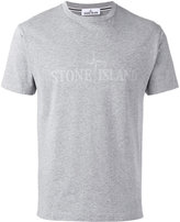 Stone Island tonal logo print T-shirt