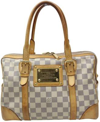 Louis Vuitton \N Grey Cloth Handbags