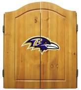 Imperial Star NFL Team Logo Complete Dart Cabinet Set NFL Team: Baltimore Ravens