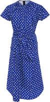 Marni Short Sleeve Polka Dot Dress