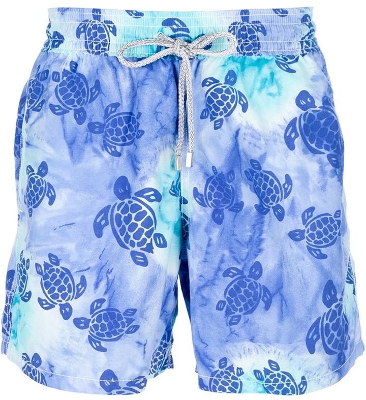 Vilebrequin turtle printed swim shorts