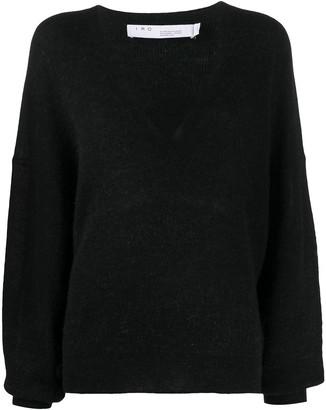 IRO V-neck knitted jumper