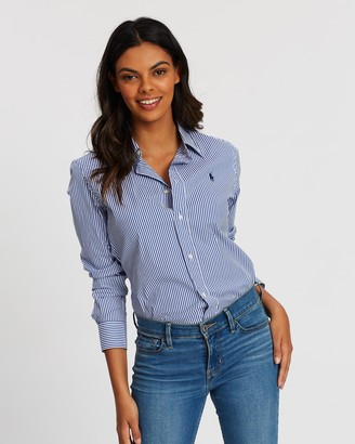 Polo Ralph Lauren Kendal Slim Stretch Long Sleeve Shirt