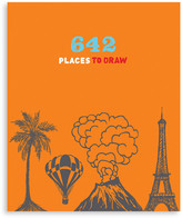 Chronicle Books 642 Places to Draw Book