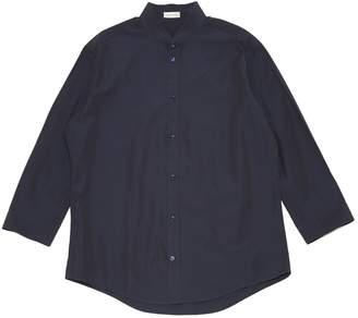 Balenciaga Navy Cotton Shirts