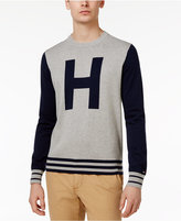 Tommy Hilfiger Men's Colorblocked Varsity-Inspired Cotton Sweater