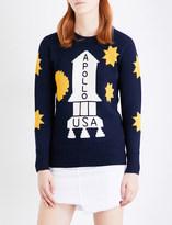 Coach Space wool jumper