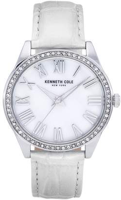 Kenneth Cole New York Women's Classic White Watch, 39.5mm