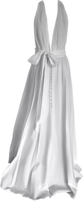 Onelady Maxi Dress Cotton Off White Rachel