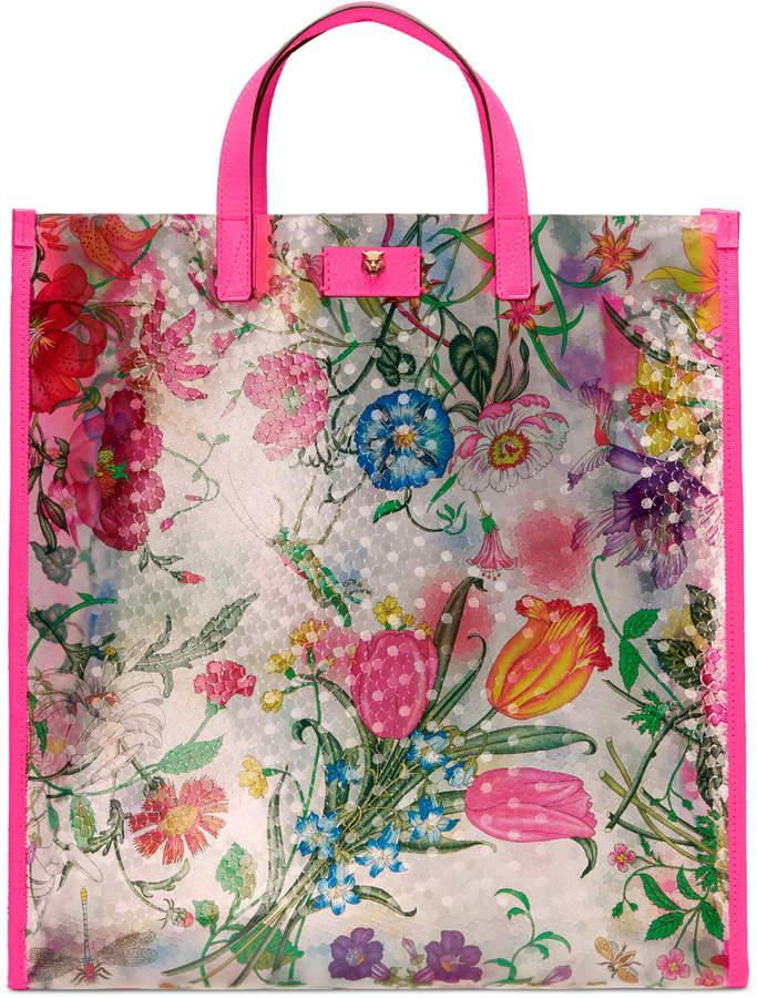 1355de9a615 Gucci Pink Tote Bags - ShopStyle