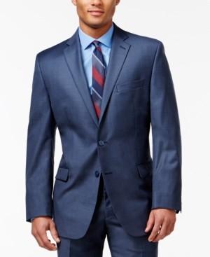 Calvin Klein Blue Big and Tall Modern Fit Jacket