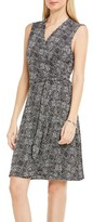 Vince Camuto Women's Delicate Pebbles Wrap Dress