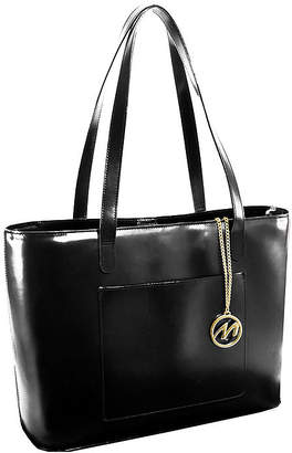 McKlein McKleinUSA Alyson Leather Tote with Tablet Pocket