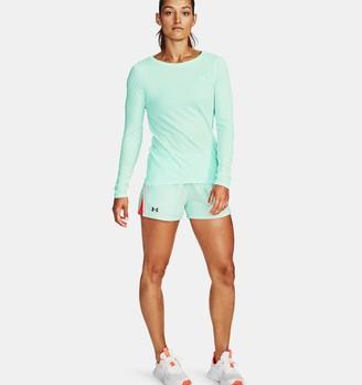Under Armour Women's UA Play Up Slit CB Shorts