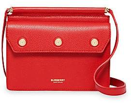 Burberry Women's Baby Title Leather Crossbody Bag